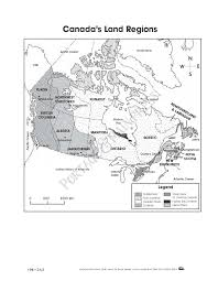 United States And Canada Map by Canadian Map Worksheets Grade 3 Maps Of Usa