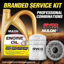 nissan almera oil capacity ryco oil filter 5l syn0w20 oil service kit for nissan almera n17
