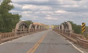 State Highway 79 Bridge at the Red River
