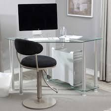 pretty computer desks for small spaces on corner computer desks