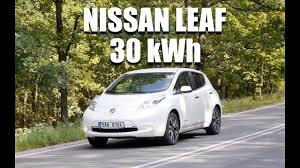 nissan leaf wont start nissan leaf 30 kwh eng test drive and review youtube