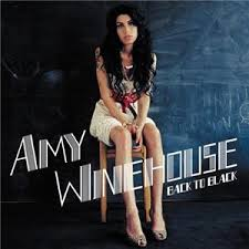 Capa do CD - Amy Winehouse - Back To Black