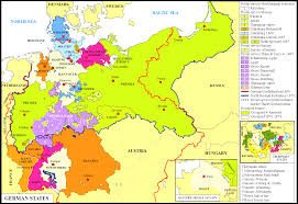 Detailed Map Of Germany by Vectorial Map Of Germany With Provinces And Railway No Stuning