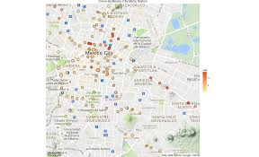 Map Of Juarez Mexico by How To Create Crime Maps Of Mexico City