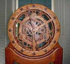 Free Wooden Clock Plans Dxf by Best 25 Wooden Gears Ideas On Pinterest Wooden Gear Clock