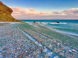 the incredible glass beach of ussuri bay ufunk net