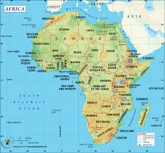 Map Of South Of France by Africa Map With Countries Map Of Africa Clickable To African