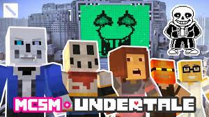 play as undertale sans full minecraft story mode playthrough