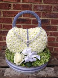 Floral Arrangement Supplies by Beautiful Handbag Floral Tribute For Somebody Who Loves Bags