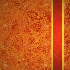 antique halloween background abstract orange background autumn and red gold ribbon for fall