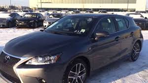 used lexus ct 200h f sport for sale 2014 lexus ct 200h f sport review youtube