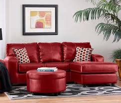 Leather Sofa Chaise by Contemporary Red Couch Decorating Ideas And The Beautiful Interior