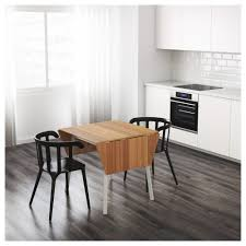 Bamboo Dining Room Furniture by Ikea Ps 2012 Drop Leaf Table Bamboo White 74 106 138x80 Cm Ikea