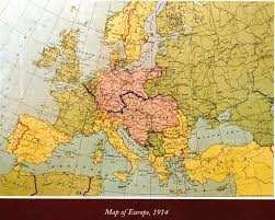Europe After Ww1 Map by History