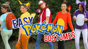 last minute pokemon halloween costumes youtube