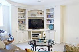 Living Room Tv Cabinet When And How To Place Your Tv In The Corner Of A Room