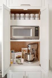 Kitchen Storage Cabinets Pantry Best 25 Microwave In Pantry Ideas On Pinterest Big Kitchen