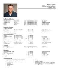 cv resume resume format