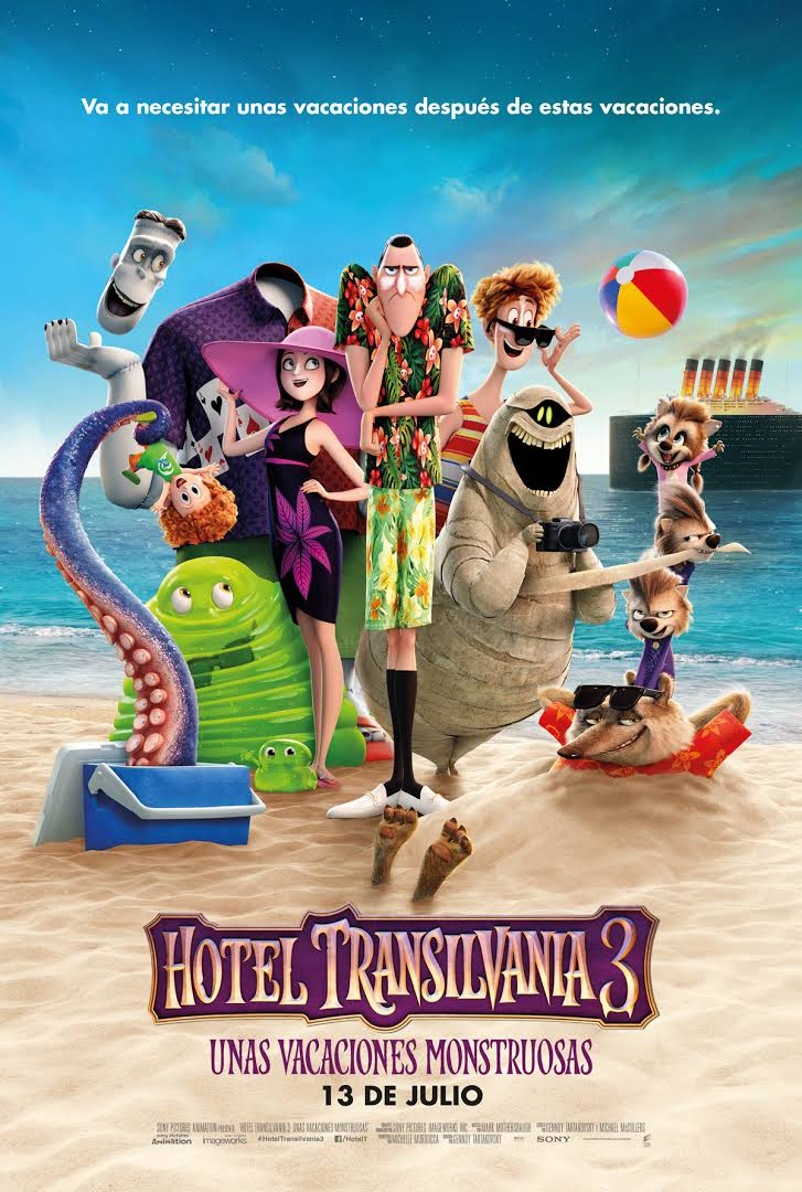 Hotel Transylvania 3:UNAS VACACIONES MONSTRUOSAS-cine-velasco-totana