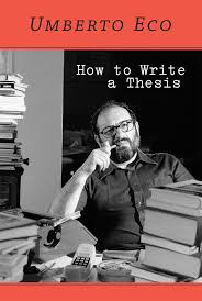 How to Write a Thesis   The MIT Press The MIT Press