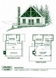 Small Cottage Floor Plans by One Story Log Cabin Floor Plans Carpetcleaningvirginia Com