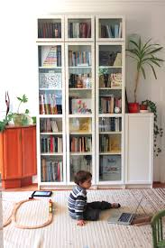 ikea billy bookcase with glass doors h o m e pinterest ikea