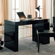 modern black computer desk custom 30 black computer desk