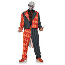 Scary Teen Halloween Costumes Thriller Scary Evil Killer Clown Teen 14 16 Halloween Costume
