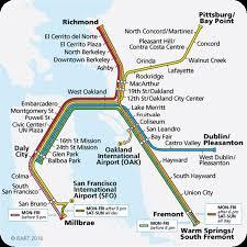 San Francisco Bart Map Getting To Berkeley Call2017