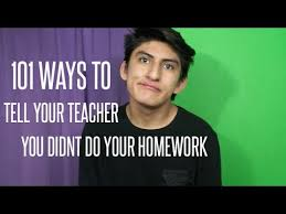 Detail for Where Do Your Te     Ways To Tell Your Teacher You Didn     t Do Your Homework Thank you guys for watching  New videos every friday  STAY IN TOUCH WITH ME  Instagram