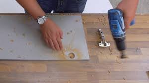Kitchen Cabinet Hinges Uk How To Drill Hinge Hinge Holes In Kitchen Doors Kitchen