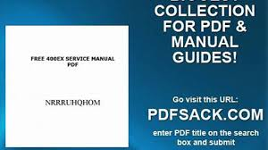 free 400ex service manual pdf video dailymotion
