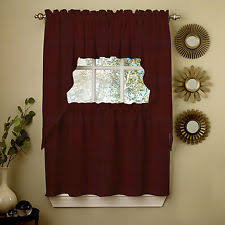 Tuscan Kitchen Curtains Valances by Wine Curtains Ebay