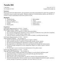 resume for customer service representative   casaquadro com casaquadro com