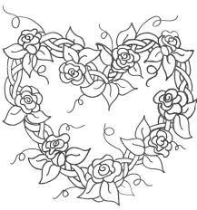 100 valentine hearts coloring pages free mandala difficult to