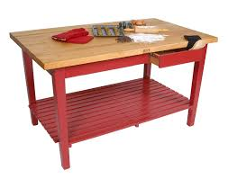 Wooden Kitchen Island Table Butcher Block Co John Boos Countertops Tables Islands U0026 Carts