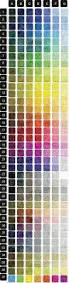 Color Swatches Paint by Best 25 Paint Colour Charts Ideas Only On Pinterest Paint