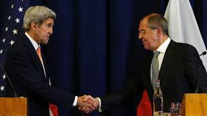 US and Russia announce Syria ceasefire plan after marathon talks     Kerry  US Russia Syria ceasefire plan a      turning      point in conflict
