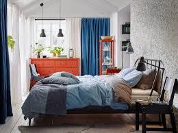fyresdal ikea ängslilja duvet cover and pillowcases on an ikea kopardal bed