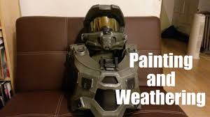 Halloween Halo Costumes Halo 4 Costume Painting Weathering Tutorial