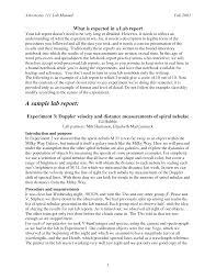 Formal Essay Format
