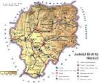 Judetul Bistrita-Nasaud - Harta Romaniei