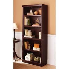 Sauder Black Bookcase by Amazon Com Better Homes And Gardens Ashwood Road 5 Shelf Bookcase