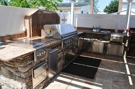 Kitchens Long Island Outdoor Kitchen And Bbq Setting Designer Long Island Ny Gappsi