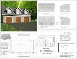 apartment garage plans sds plans