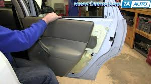 how to install remove rear door panel manual windows 2000 07