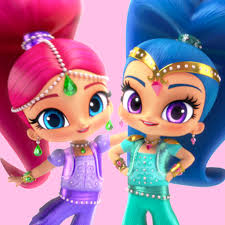 shimmer and shine online games for kids