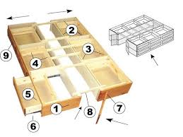 Platform Storage Bed Plans With Drawers by Best 25 Bed With Drawers Under Ideas On Pinterest Under Bed