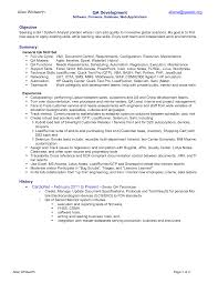 it officer cover letter qa tester resume resume cv cover letter