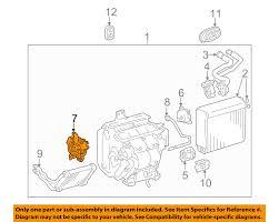 lexus rx330 evaporator toyota oem evaporator heater servo 871060e010 ebay